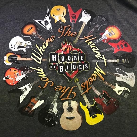 fac7abc3e447 house of blues Other - House of Blues Las Vegas T-Shirt Mens XXXL 3XL